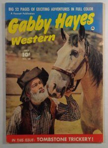 Gabby Hayes Western #20 Golden Age Fawcett Comics 1948