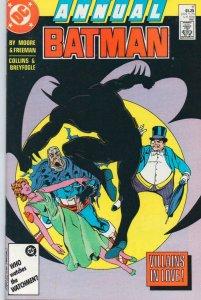 BATMAN #11 Annual, NM-, Alan Moore, 1987, Villains in Love, more BM in store