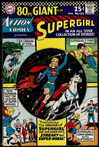 Action Comics #334 80-Page Giant (Mar 1966 DC)  6.0 FN