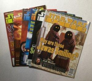 Star Wars Insider 36 37 38 39 40 41 Magazine lot run set Fine fn 6.0 Lucasfilms