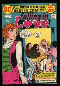 Falling In Love #134 VF- 7.5