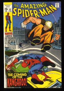 Amazing Spider-Man #81 VF 8.0 Marvel Comics Spiderman