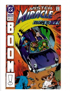 Mister Miracle #21 (1990) SR8