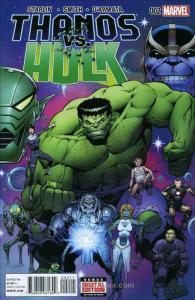 Thanos vs. Hulk #2 VF/NM; Marvel | save on shipping - details inside