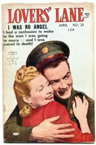 Lovers' Lane #23 1952- Golden Age Romance- Marked- I was No Angel VG