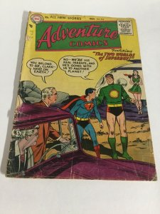 Adventure Comics 218 Gd- Good- 1.8 Cover Detached DC Comics Silver Age