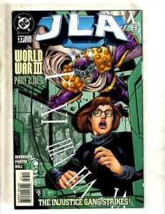 Lot Of 12 JLA DC Comic Books # 37 38 39 40 41 42 43 44 45 46 48 49 Batman MF16