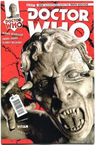 DOCTOR WHO #8 B, NM, 10th, Tardis, 2014, Titan, 1st, more DW in store, Sci-fi