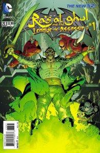 Batman And Robin Ras Al Ghul League Of Assassins 23.3 2013 NM 3D New 52 DC Comic