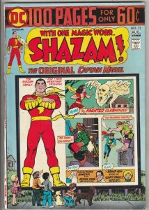 Shazam #13 (Aug-74) NM- High-Grade Captain Marvel