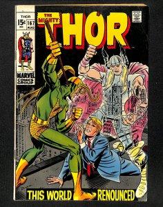 Thor #167 (1969)