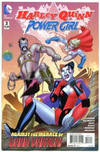 HARLEY QUINN POWER GIRL #3, NM, Connors, Palmiotti, 2015, more HQ in store