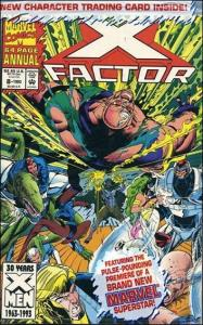 Marvel X-FACTOR (1986 Series) Annual #8 NM Polybagged