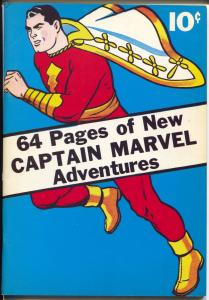 Flashback #10 1974-Reprints Captain Marvel's Adventures #1 from 1941-VF/NM