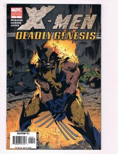 X-Men Deadly Genesis # 1 Variant VF Marvel Comics Wolverine Cyclops Storm S92