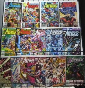 AVENGERS Vol. 3 (1998) SAMPLER! Marvel,16 issues! VF/+ Busiek!George Perez!Johns