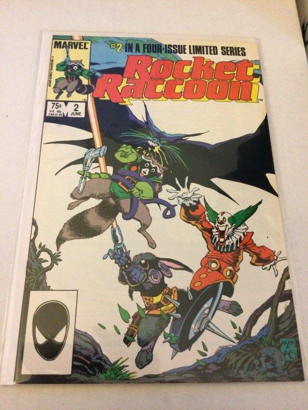 Rocket Raccoon 2 Nm- Near Mint- Limited Series Marvel