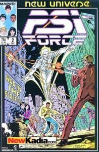 PSI-Force #2, NM- (Stock photo)