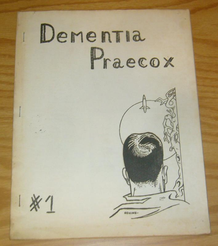 Dementia Praecox #1 FN november 1957 - adkins cover - lensman - rare fanzine