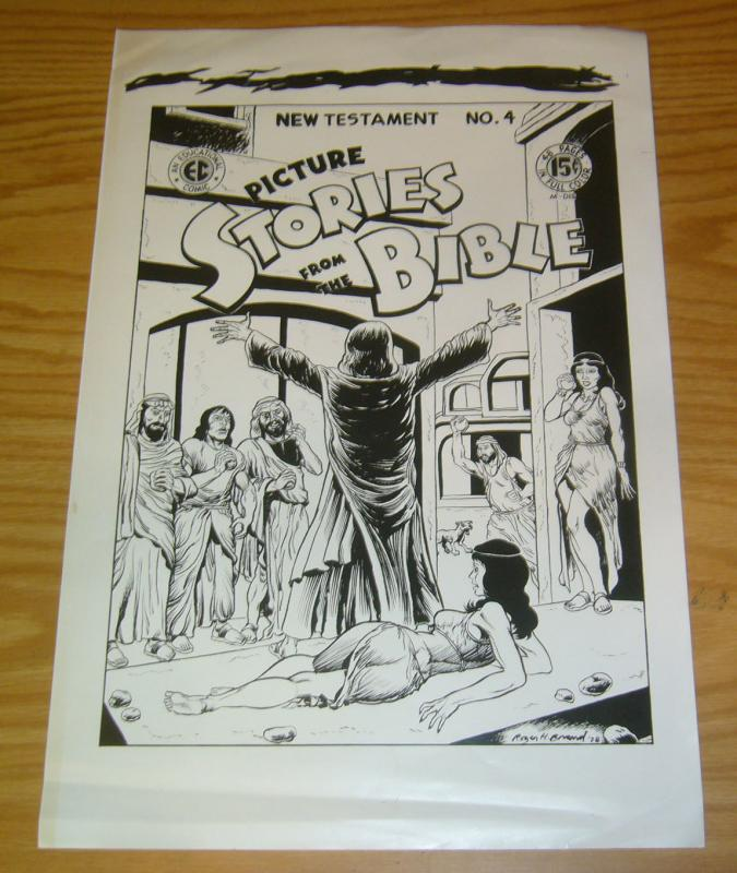 Picture Stories From the Bible: New Testament #4 one sheet poster - roger brand