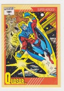 1991 Marvel Universe #49 Quasar