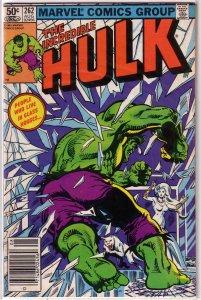 Incredible Hulk   vol. 1   #262 VG Mantlo/Sal Buscema, Milgrom cover