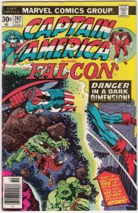 Captain America #202 (Oct-76) FN/VF+ High-Grade Captain America
