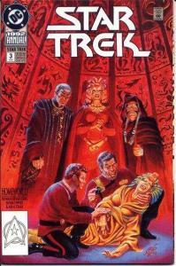 Star Trek (1989 series) Annual #3, NM + (Stock photo)