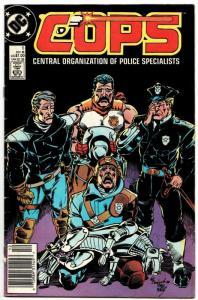 Cops #5 (DC, 1988) VG-