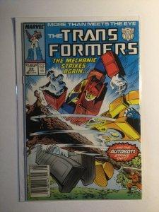 Transformers 28 Near mint nm newsstand edition Marvel
