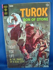 TUROK SON OF STONE 64 Fine VF 1969