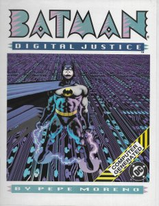 Batman: Digital Justice  1989 promotional poster VG