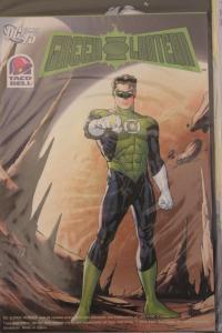 Taco Bell Kid?s Meals Premium: DC Comics 75th Anniversary 3-D Green Lantern  ...