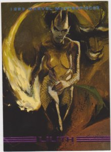 1993 Marvel Masterpieces #80 Lilith