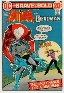 DC Brave and the Bold - #104 Batman & Deadman 1972 ~ VG/F (PF474)
