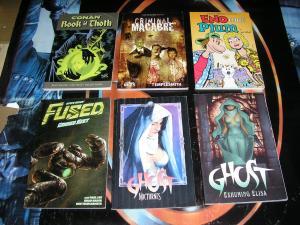 Dark Horse TPB Lot, 6 diff, Conan Ghost Fused Criminal Macabre Eno and Plum