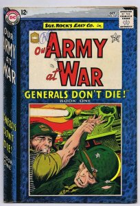 Our Army at War #147 ORIGINAL Vintage 1964 DC Comics Sgt Rock