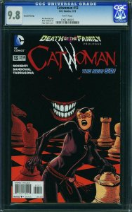 CATWOMAN #13 CGC 9.8 ***Highest Graded*** Death in the Family 2ND PRINT Jan 2013