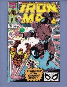Iron Man #257 NM- Marvel 1990
