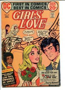 GIRLS' LOVE STORIES #171 1972-ROMANCE-WEDDING COVER VG+