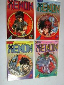 Xenon, Set:#1-4, 8.0/VF (1987)