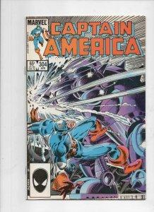 CAPTAIN AMERICA #304, VF/NM, Nick Fury 1968 1985, more CA in store