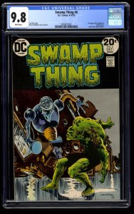 Swamp Thing #6 CGC NM/M 9.8 White Pages