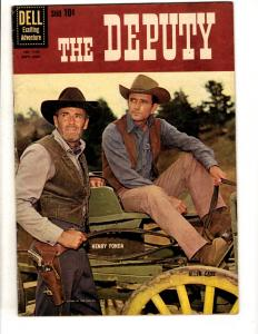 Four Color # 1130 FN/VF Dell Comic Book The Deputy Henry Fonda Photo Cover JL10