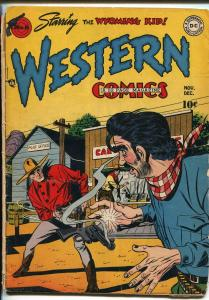 WESTERN #6 1948-DC-WYOMING KID-MARCUS WHITMAN-RODEO RICK-vg