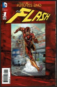 Futures End Flash 3-D Cover (2014, DC) 9.6 NM+