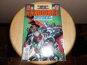 Hardware (1993) #18 Aug 1994 Cover price $1.75 DC Worlds Collide (DC) (part 9)