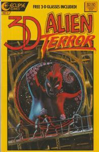 3-D ALIEN TERROR #1 - 3-D Comic from Eclipse