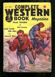 COMPLETE WESTERN PULP-1937-OCT-JAMES P OLSEN-GUN BATTLE G