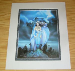 Chris Achilleos' Amazons Print: Vampire - signed bad girl art